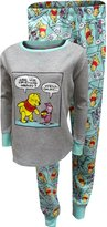 Disney Winnie The Pooh And Piglet Thermal Knit Pajama Set for women