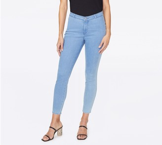NYDJ Ami Skinny Ankle Jeans with Contour Back Seams