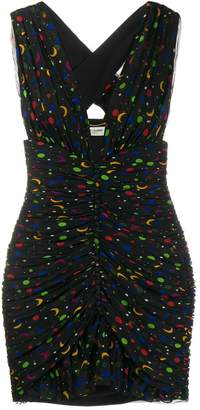 Saint Laurent Constellation mini dress