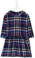 Maan - checked dress - kids - Cotton/Spandex/Elastane - 2 yrs