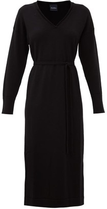 MAX MARA LEISURE Calamai Dress - Black