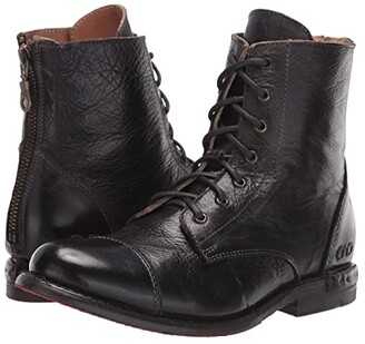 Bed Stu Laurel (Black Rustic Leather) Women's Boots