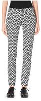 Michael Kors Printed Cotton-Sateen Pants