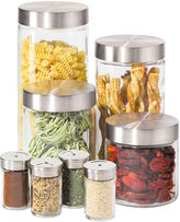 Oggi OGGITM 8-pc. Glass Canister and Spice Jar Set