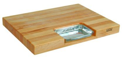 """John Boos & Co. Maple Edge-Grain Newton Prep Master Cutting Board, 24"""" x 18"""" x 21⁄4"""""""