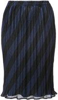 Alexander Wang striped skirt - women - Polyester - XS