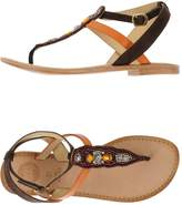 GIOSEPPO Toe strap sandals - Item 44922663