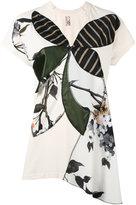 Antonio Marras patchwork panel T-shirt - women - Cotton/Polyester - 2
