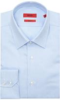 Hugo Boss Hugo By Hugo Boss C-enzo Pattern Regular Fit Shirt, Light Blue