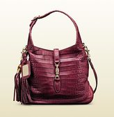 Gucci 1921 Collection Crocodile Shoulder Bag