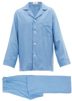 Emma Willis - Piped Gingham Cotton Pyjamas - Mens - Multi