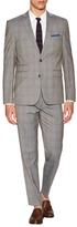Vince Camuto Wool Plaid Notch Lapel Suit