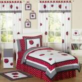 JoJo Designs Sweet Ladybug 3-Piece Full/Queen Comforter Set