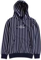 HUF Sutter Stripe Pullover Hoodie Blue