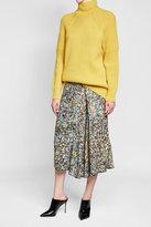 Victoria Beckham Ribbed Wool Turtleneck Pullover