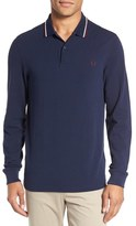 Fred Perry Twin Tipped Long Sleeve Piqué Polo