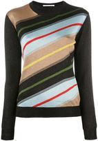 Marco De Vincenzo striped jumper - women - Polyester/Polyamide/Acetate - 44