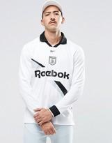 Reebok Vector Retro Long Sleeve T-Shirt In White AZ9551