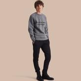 Burberry Cotton Blend Knit Sweatpants