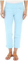 Jag Jeans Echo Pull-On Classic Fit Crop in Dolce Twill