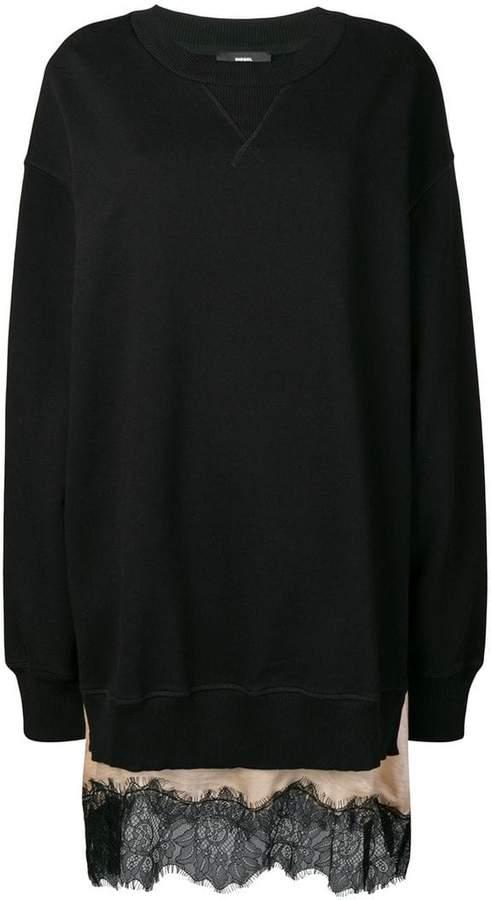 Diesel oversized sweatshirt