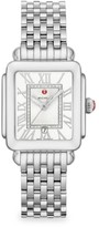 Michele Deco Madison Mid Stainless Steel Diamond Dial Watch