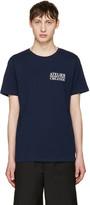 A.P.C. Navy atelier Logo T-shirt