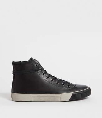 AllSaints Osun Leather Hightop Sneaker