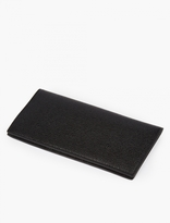 Thom Browne Black Grained Leather Wallet