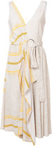 Derek Lam 10 Crosby embroidered flared dress