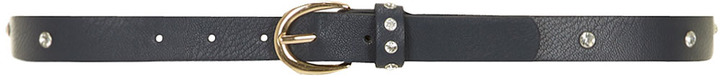 Dorothy Perkins Navy diamante jean belt