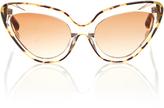 Erdem Tortoise Cat Eye Sunglasses