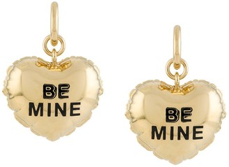 Marc Jacobs Be Mine Engraved Earrings