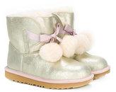 UGG pom pom embellished boots