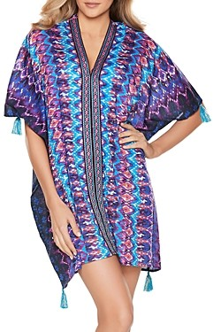 Miraclesuit Bella Albra Printed Caftan Cover-Up