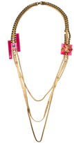 Erickson Beamon Schiaparelli Pink Necklace