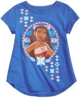 Disney Moana Little Girls Short Sleeve Graphic Tee T-Shirt