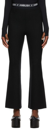 Ambush Black Wool Lounge Pants
