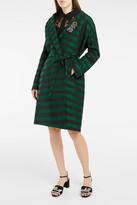 Rochas College Stripe Coat