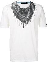 GUILD PRIME bandana neck print T-shirt - men - Cotton - 1