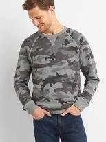 Gap Camo raglan sweatshirt