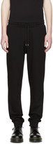McQ by Alexander McQueen Black Jersey Lounge Pants