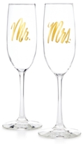 Easy, Tiger Easy Tiger Mr. & Mrs. Champagne Flutes