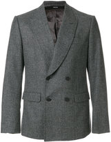 Alexander McQueen double breasted blazer - men - Cotton/Polyester/Viscose/Wool - 46