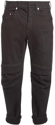 Neil Barrett Knee Patch Biker Jeans