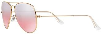 Ray-Ban Aviator Mirrored Sunglasses