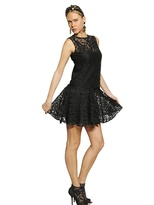 Dolce & Gabbana Viscose Lace Dress