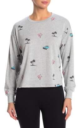 Circlex Printed Crew Neck Sweatshirt
