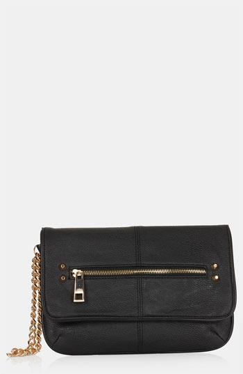 Topshop Studded Clutch