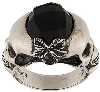 Ugo Cacciatori skull detail ring